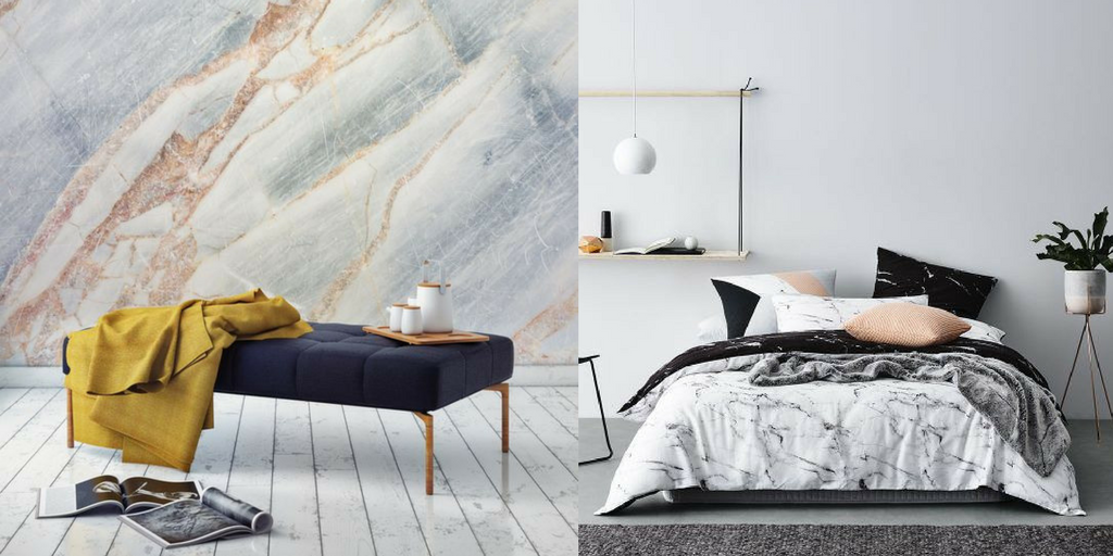 summer hottest interior trends marble trends
