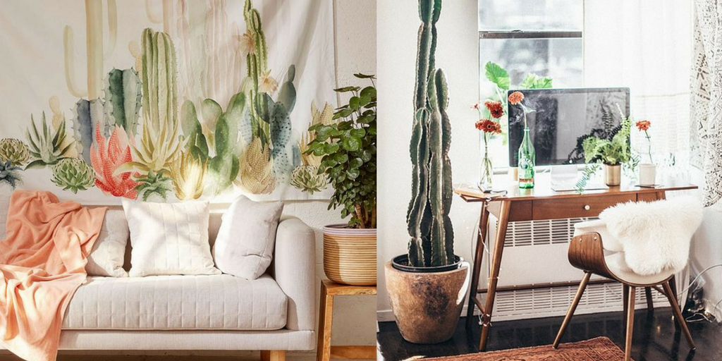 summer hottest interior trends cactus trends