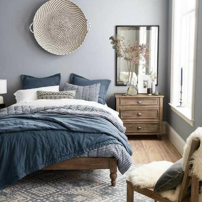 Room Colour Blue Bedroom