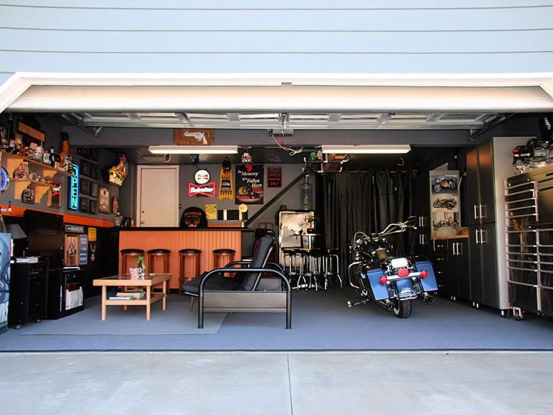 care free man cave