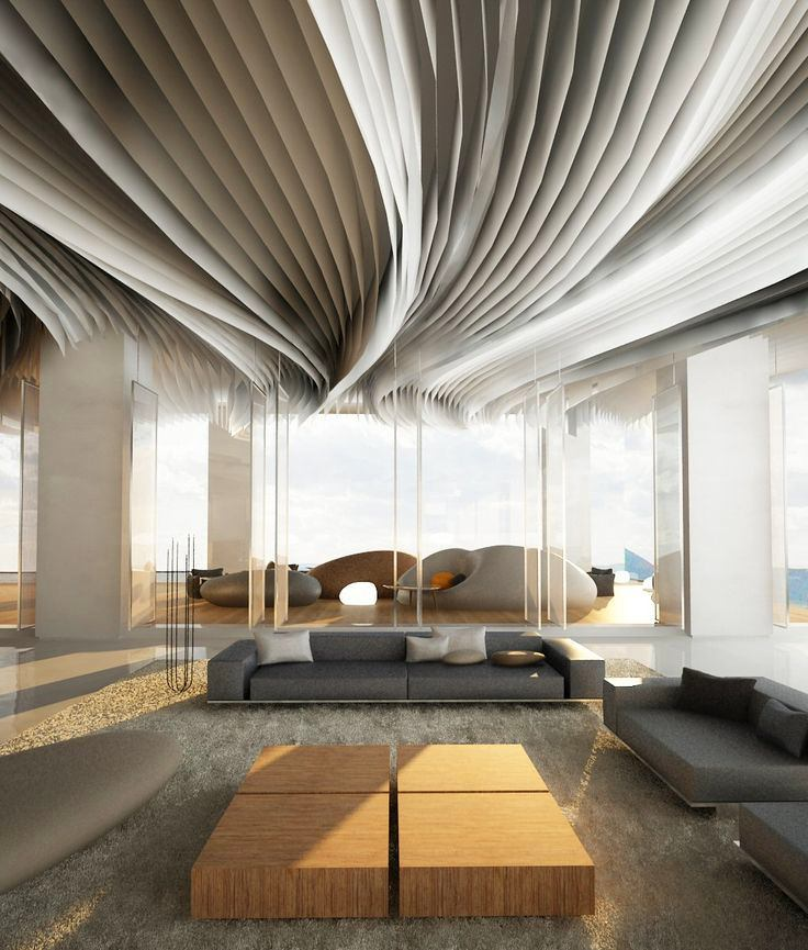 look up 10 inspirational ceiling designs for the home