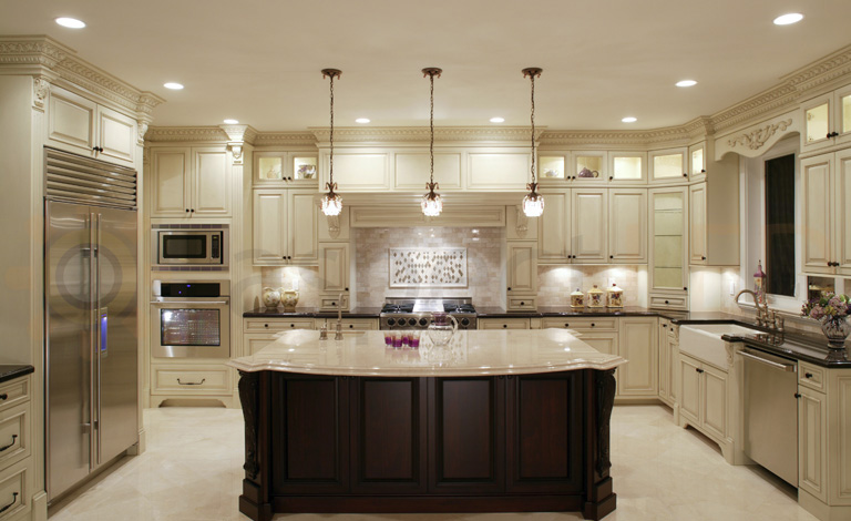 lights in the ceiling kitchen