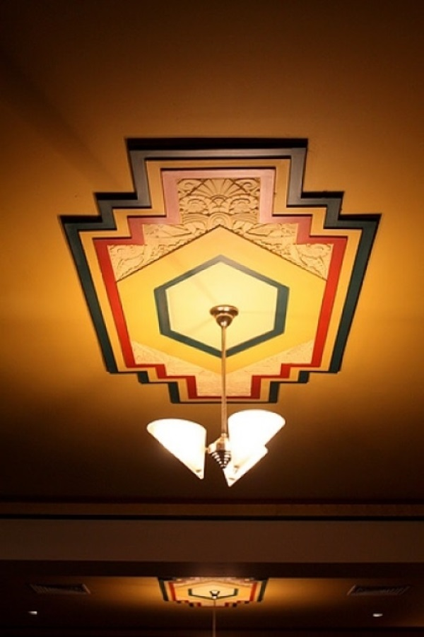 art deco ceiling