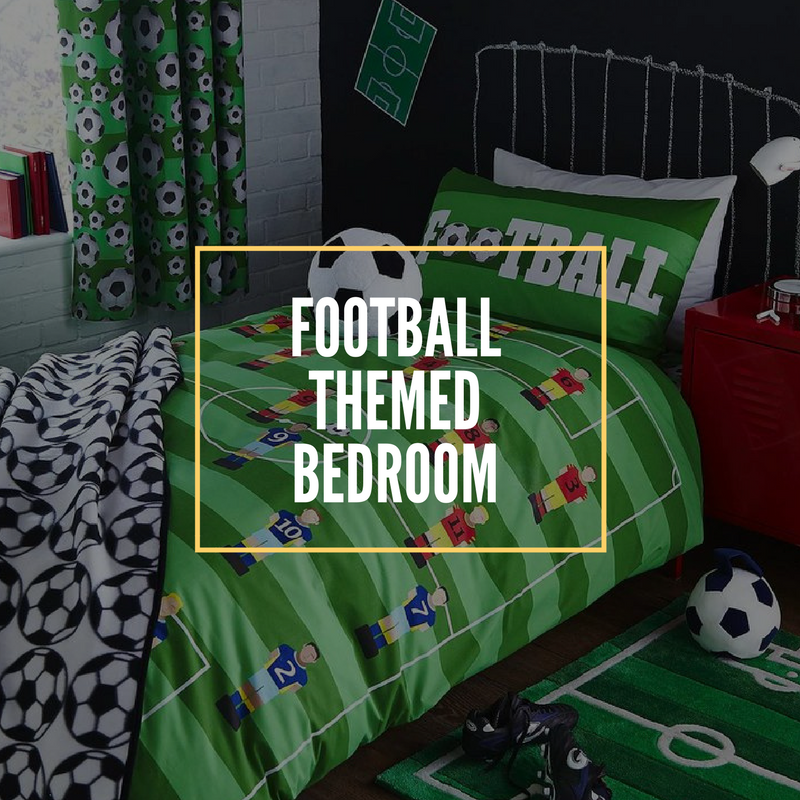 football themed bedroom featured image