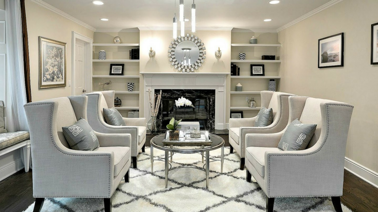 rearrange the furniture home staging