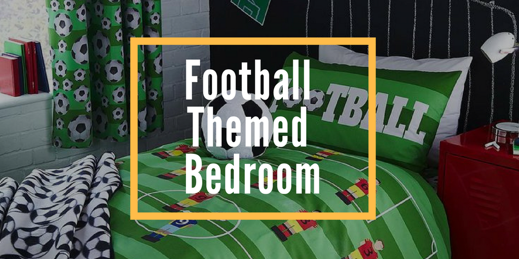 football themed bedroom banner image