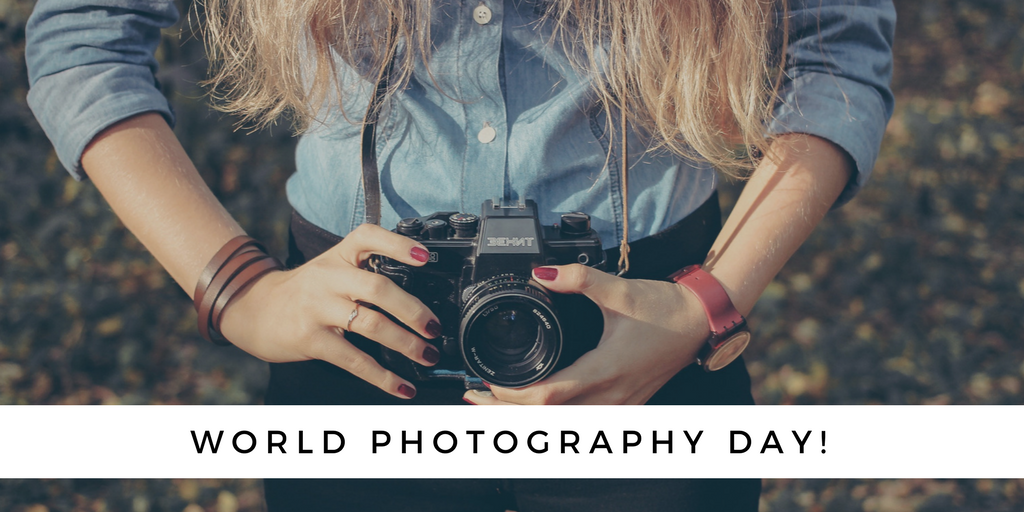 world photography day banner