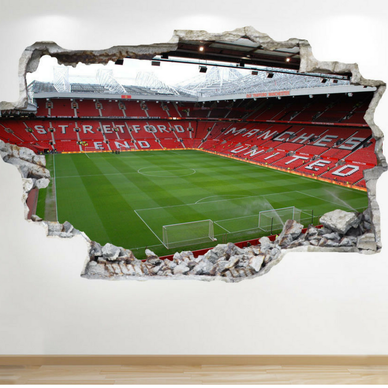 stadium football pitch mural