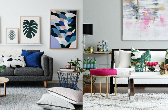 creating a summer vibes atmosphere in the home