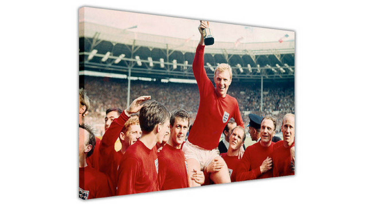 football wall art canvas