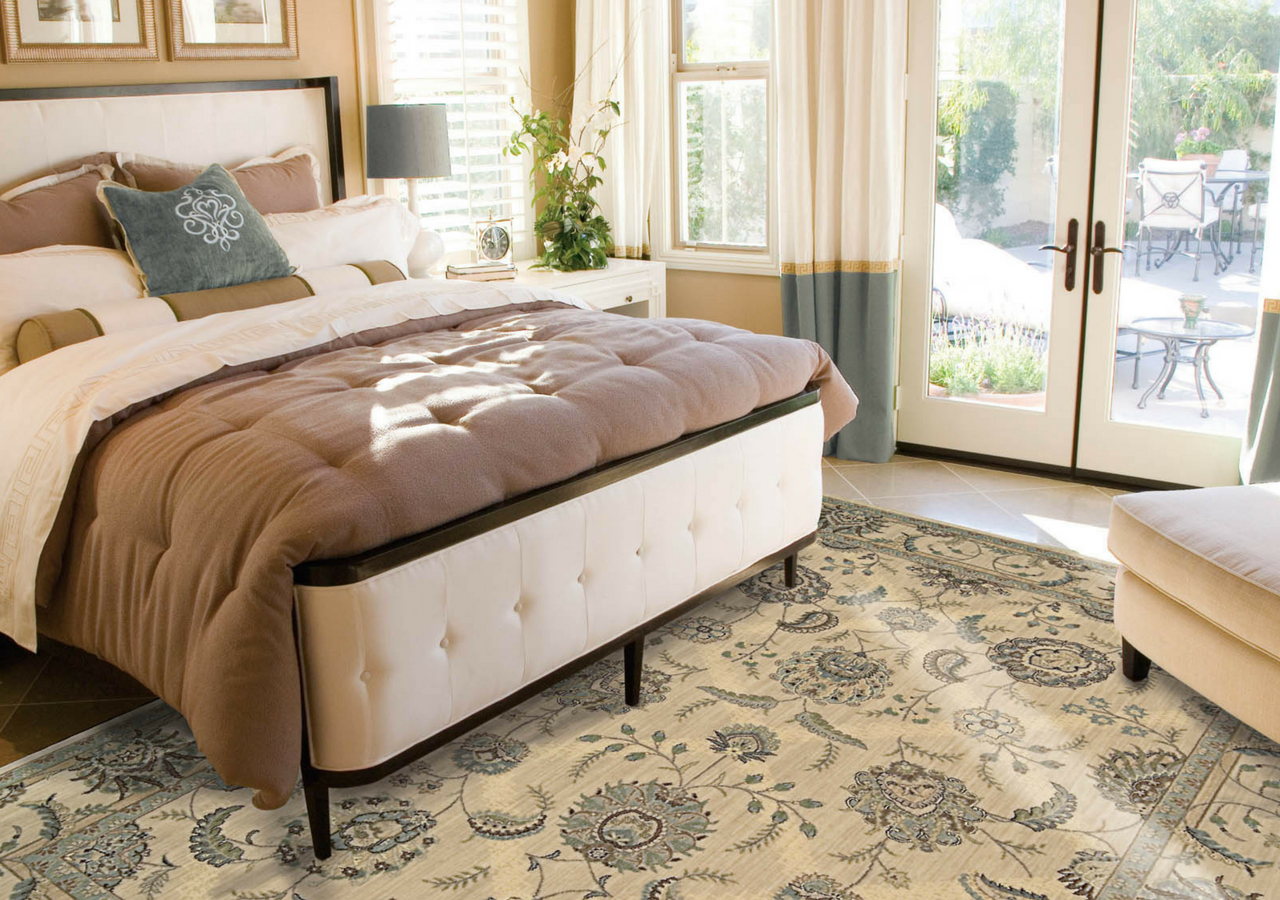 antrique bedroom rug