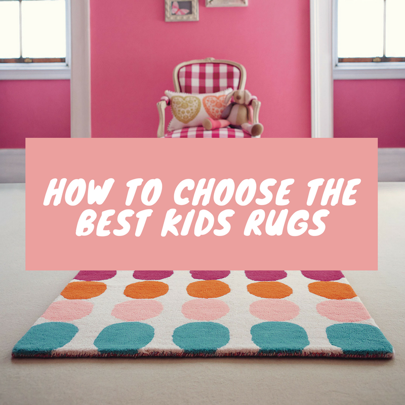 how to choose the best kids rugs featured image