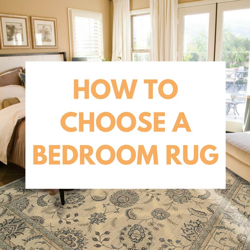 how to choose the best bedroom rug