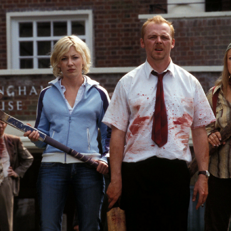 shaun of the dead horror movies