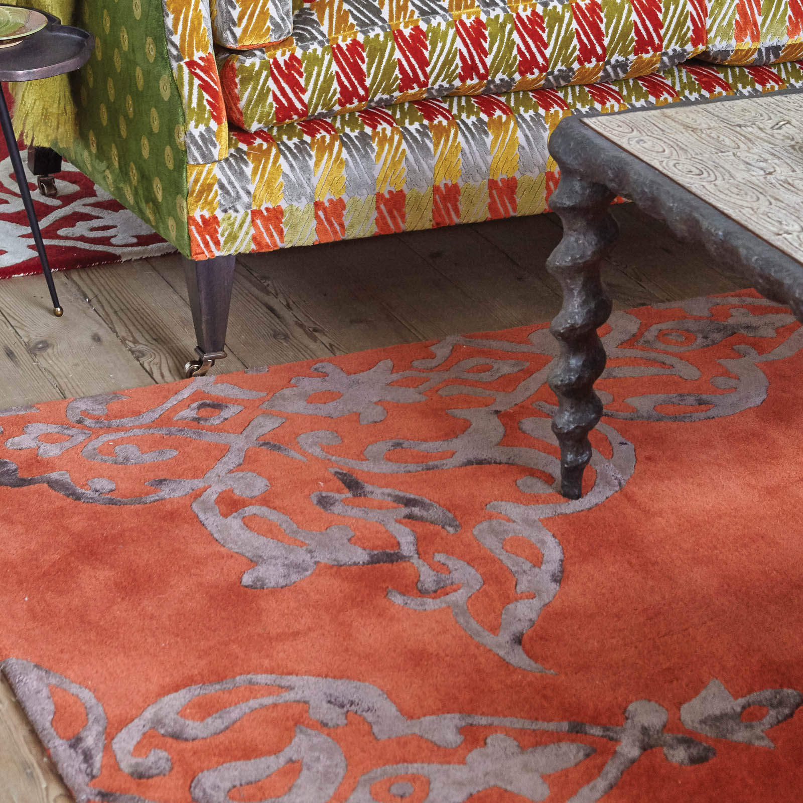 Carlotta rugs in Clemenine by William Yeoward