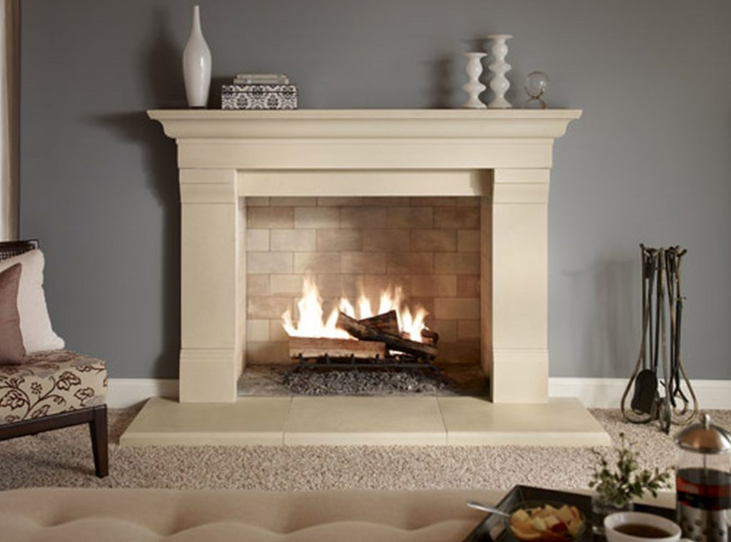 traditional fireplace 1