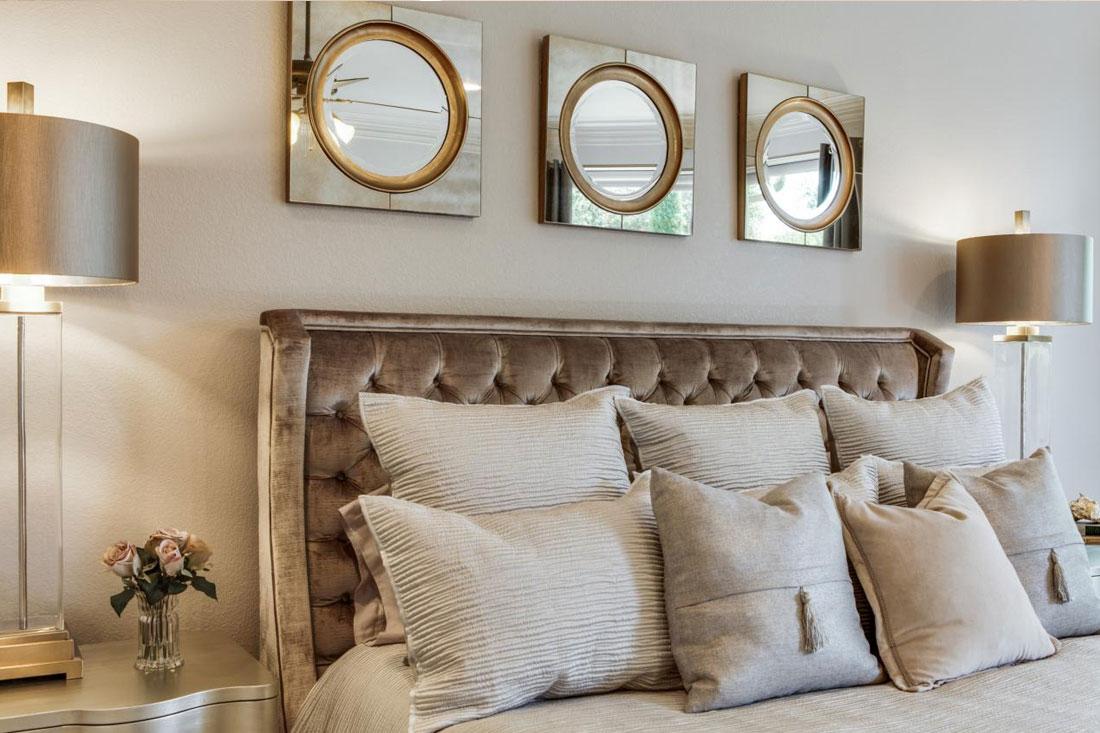 velvet in the bedroom