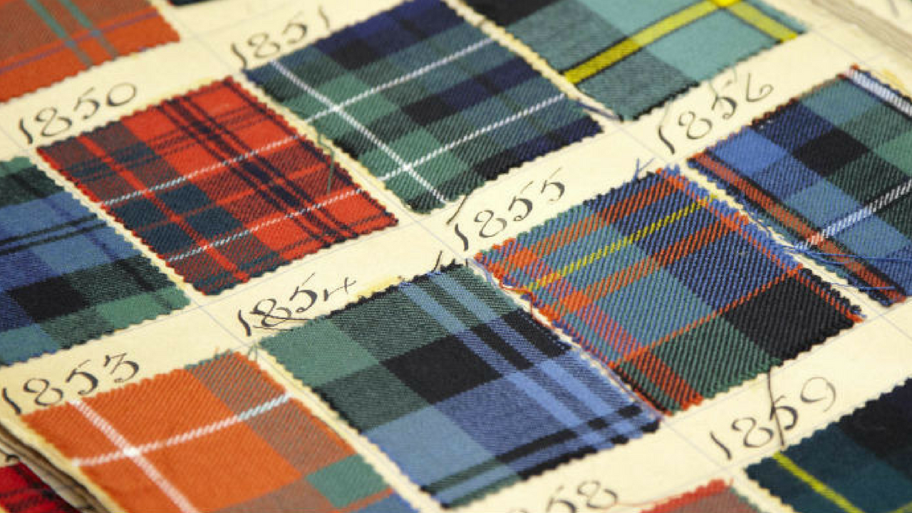 tartan and plaid throughout the years