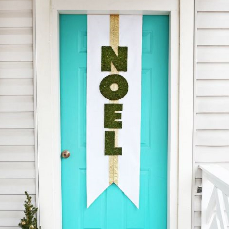 noel hanging christmas door decoration