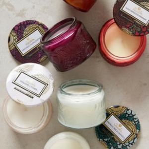 Secret Santa Mini Candles
