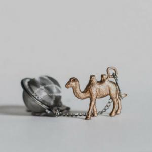 Secret Santa Tea Ball Infuser Camel