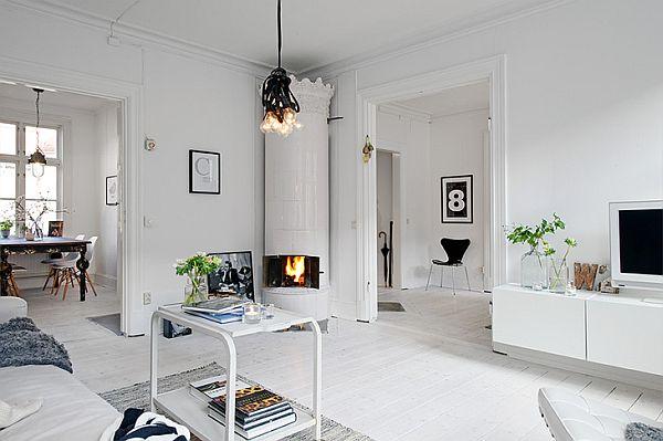 plain scandinavian interior
