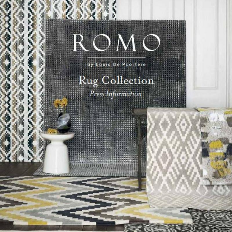 romo rug collection 2018