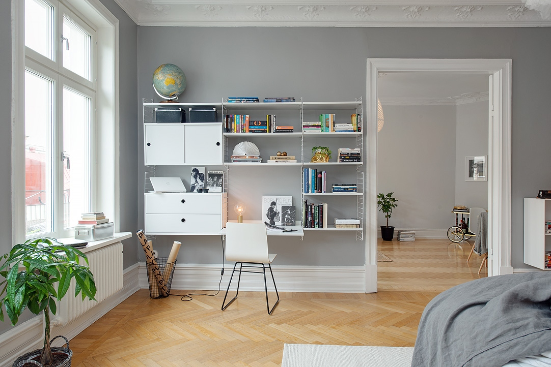 Grey Scandinavian Interior