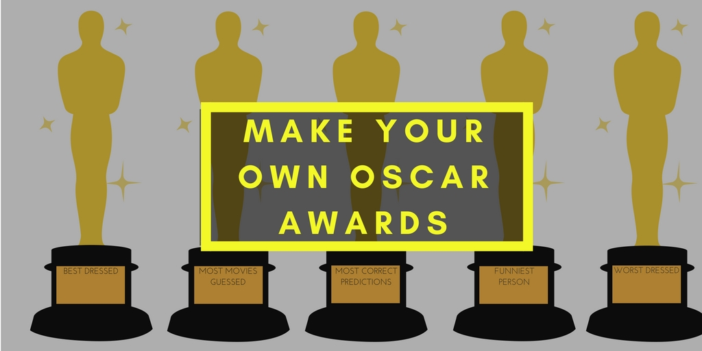make your own oscars awards graphic the rug seller