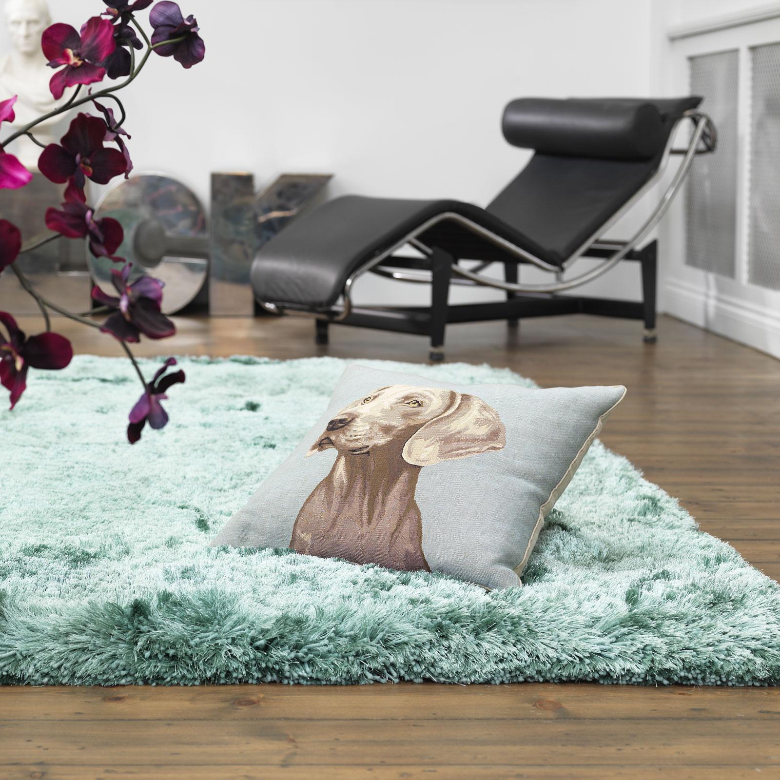 crushed velvet plush rugs