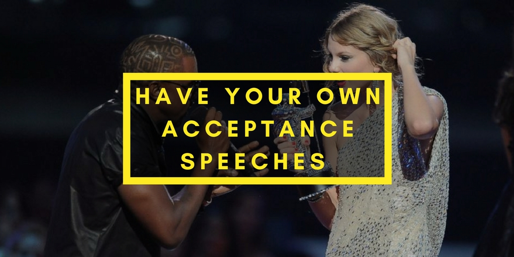 have your own acceptance speeches the rug seller graphic