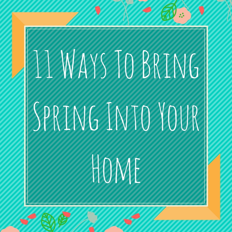 11 Ways To Bring Spring Into Your Home - The Rug Seller Blog