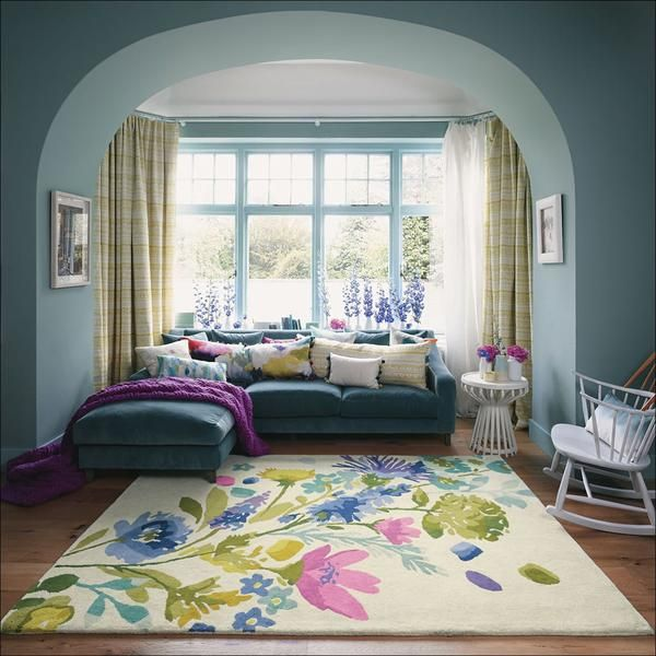 Mother's Day gift, Tetbury Meadow Rugs 19201 by Bluebellgray