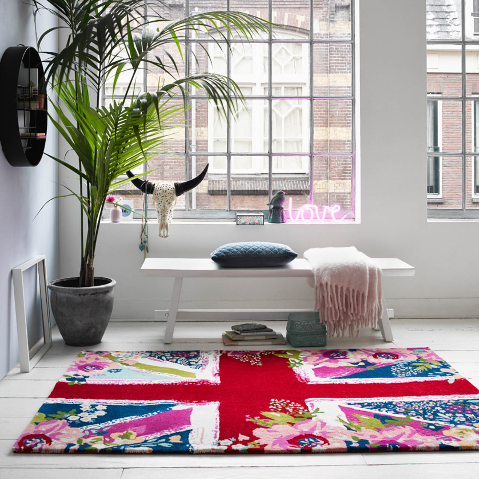 Bloom Kingdom rugs 010 11 by Accessorize Home