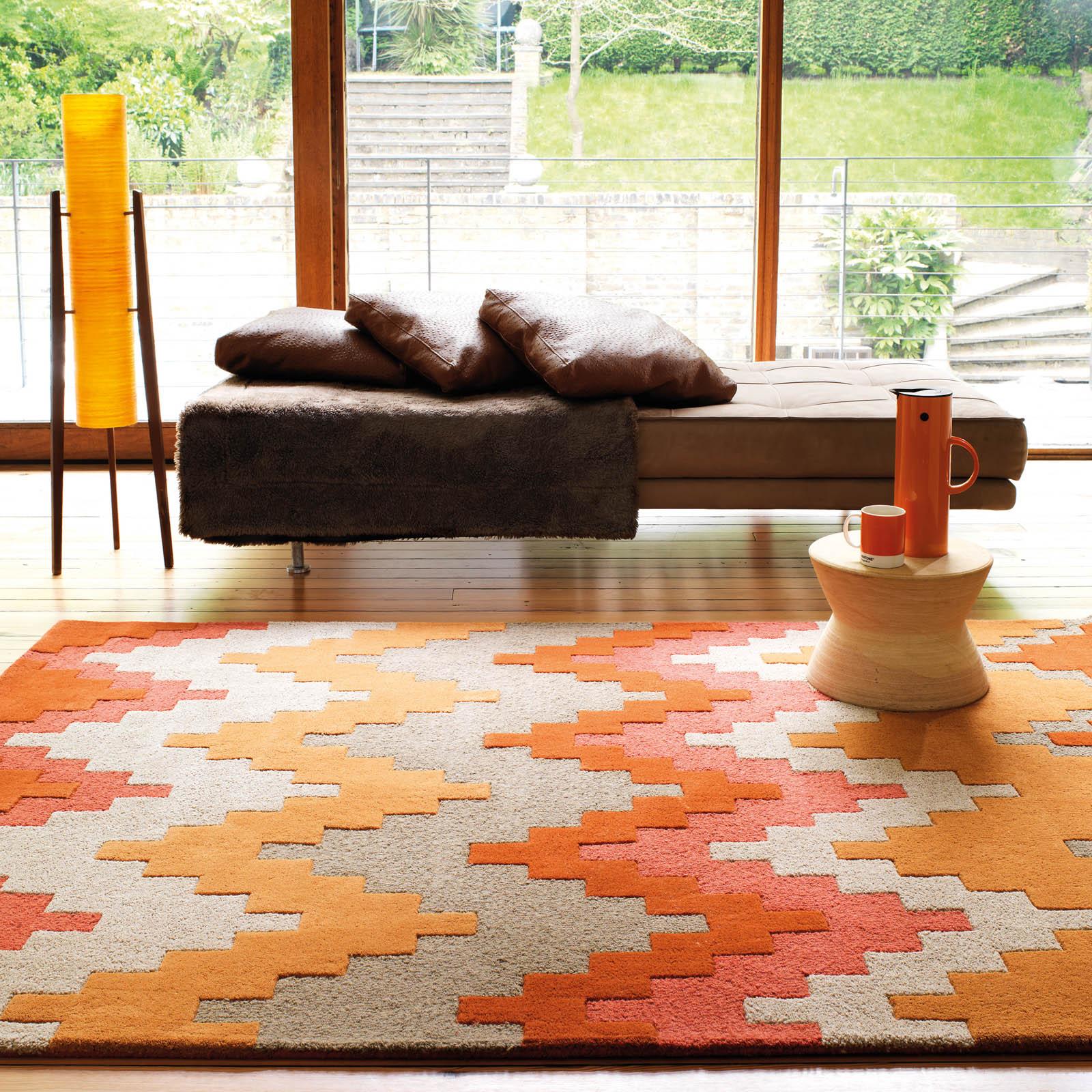 Accessorize Home Matrix Cuzzo Rugs MAX23 Sienna