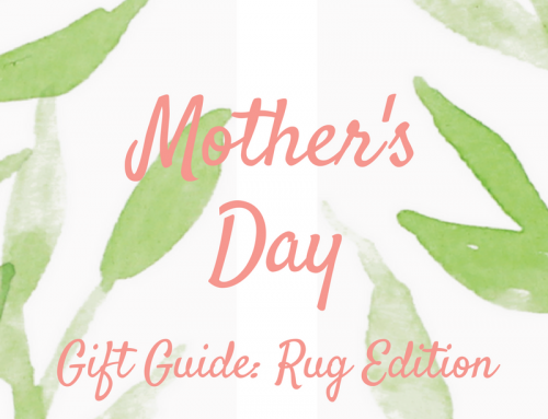 Mother's Day Gift Guide: Floral Rug Edition