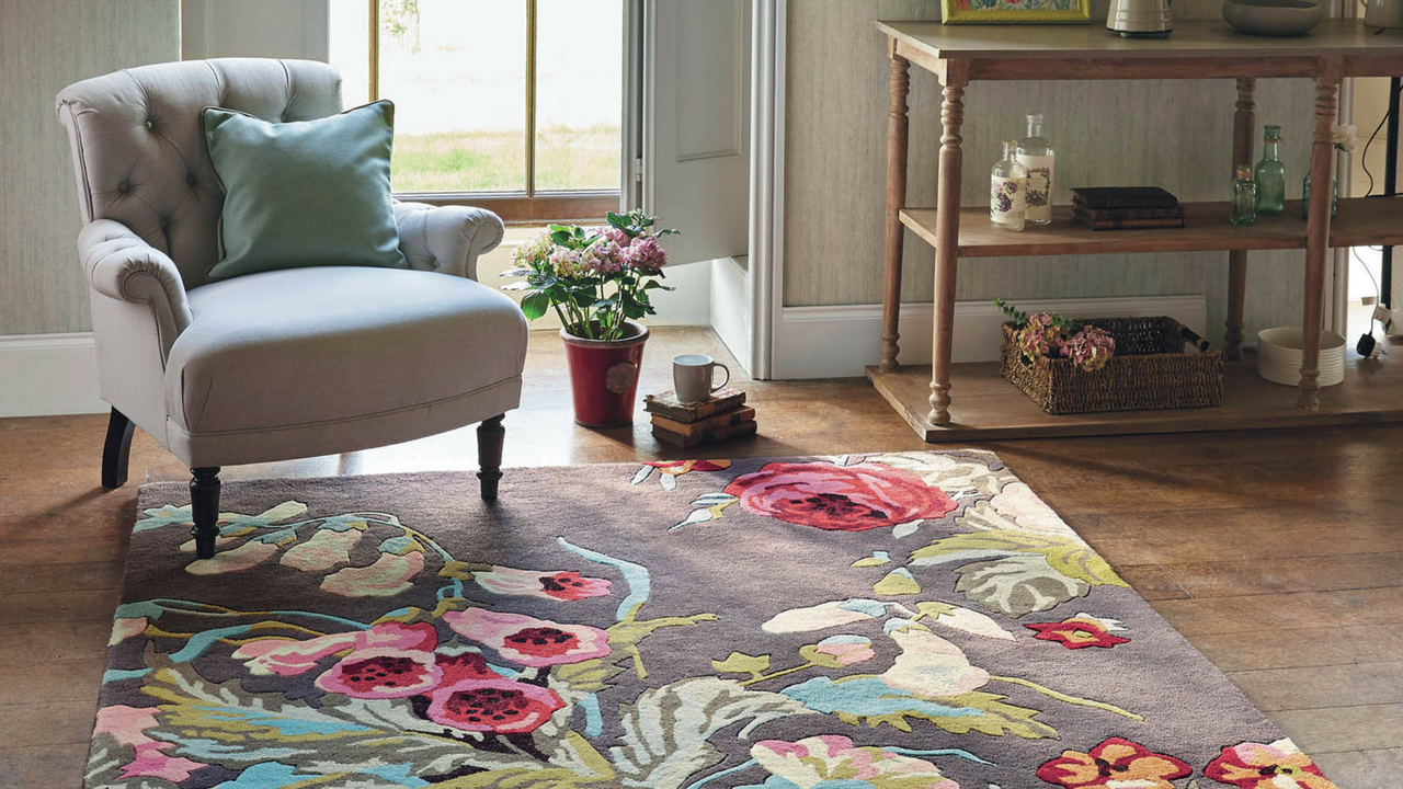 Mother's Day gift, Stapleton Rugs 45302 in Rosewood by Sanderson