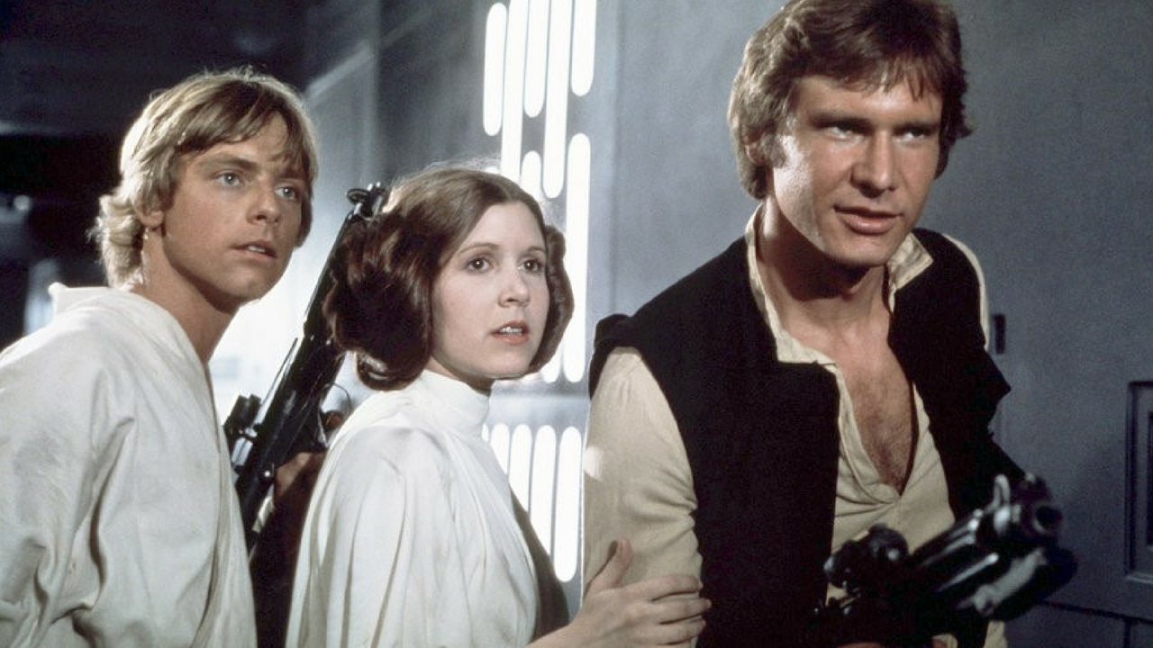 Star Wars May the 4th be with you Princess Leia, Han Solo and Luke Skywalker
