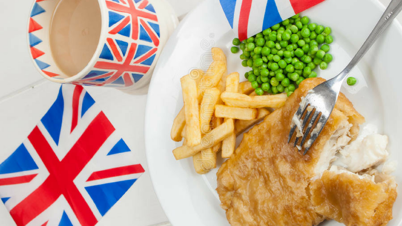 Royal Wedding Food and Drink Options Fish and Chips