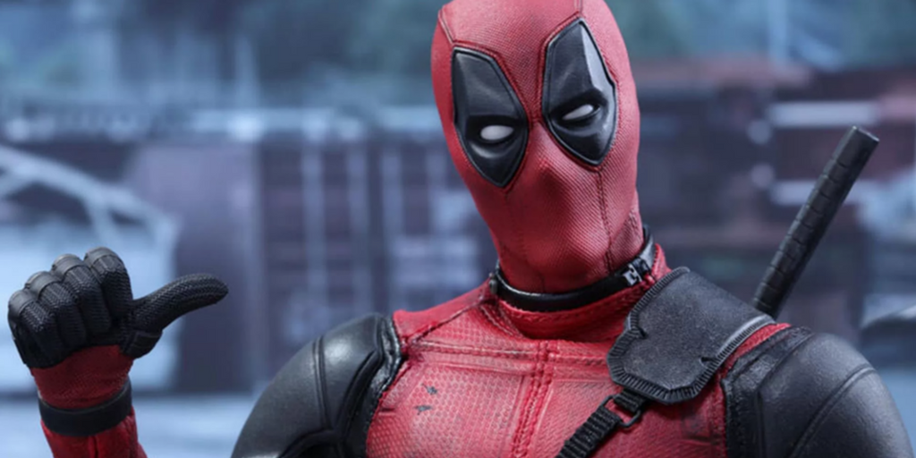 Deadpool Image Pointing To Himself