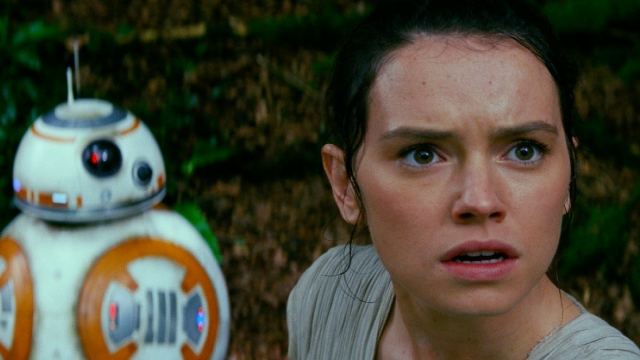 Star Wars May the 4th be with you BB-8 and Rey in Star Wars The Force Awakens