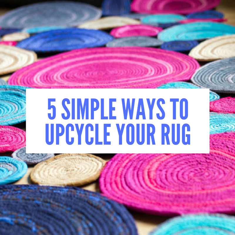 5 simple ways to upcycle your rug