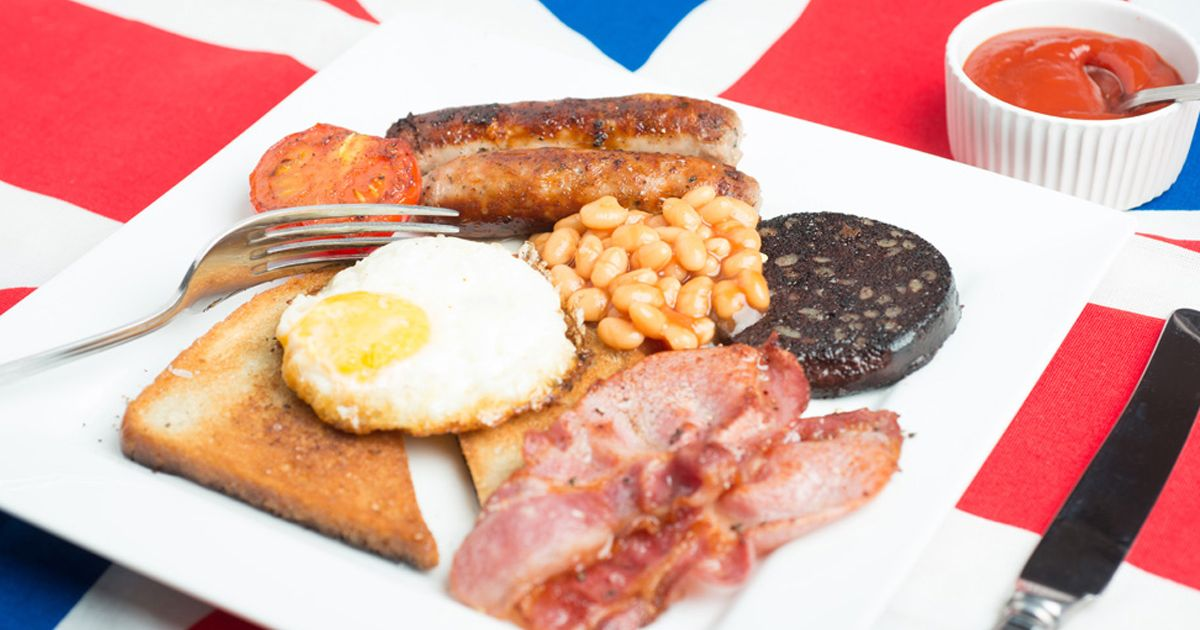 Royal Wedding Food and Drink Options English Breakfast