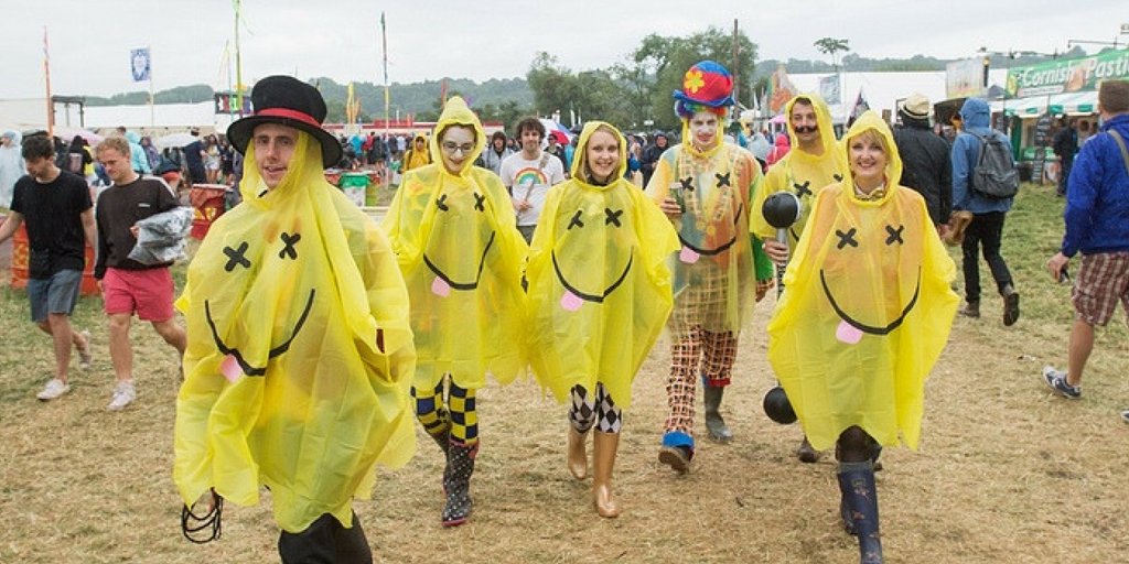 festival essentials waterproofs
