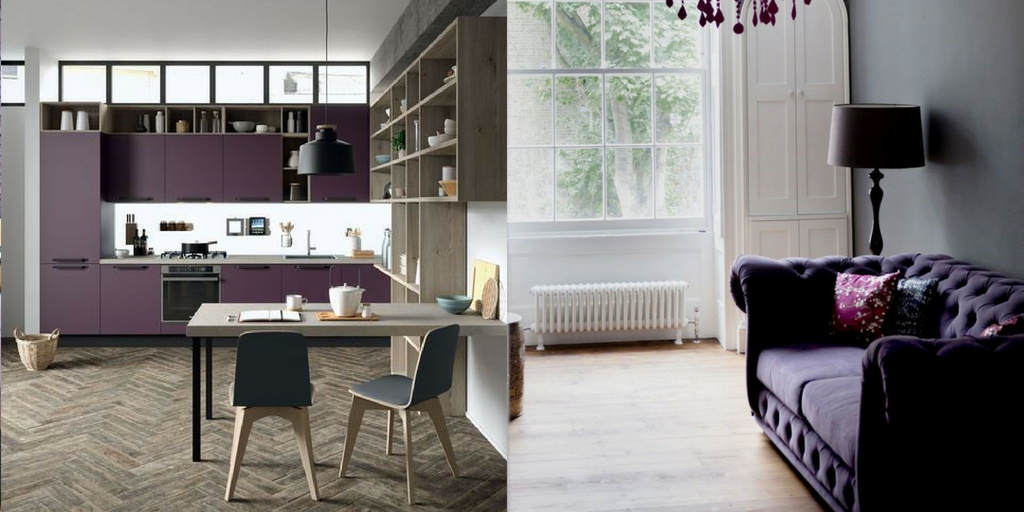Ultra Violet Purple Furniture