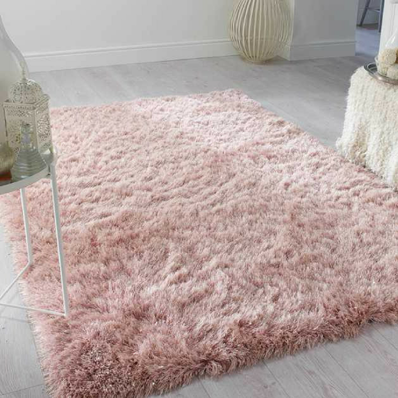 Dazzle Rug in Blush Pink The Rug Seller