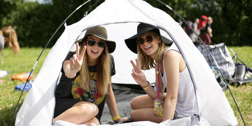 festival essentials tent