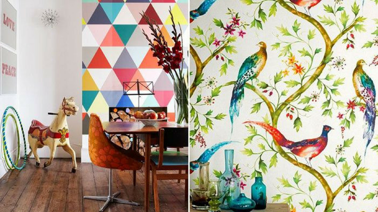 Colourful Decor Feature Walls in Bright Homes