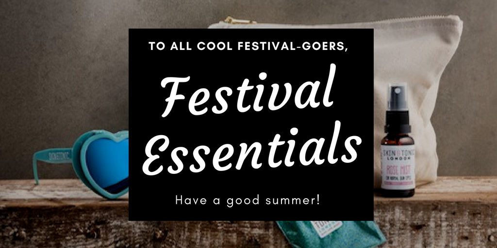 festival essential packing list banner image