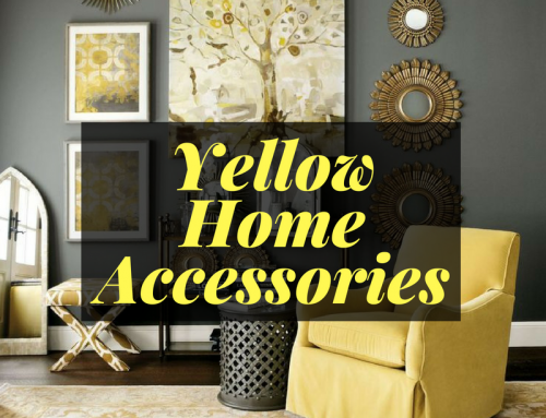 How to Decorate with Yellow Accessories
